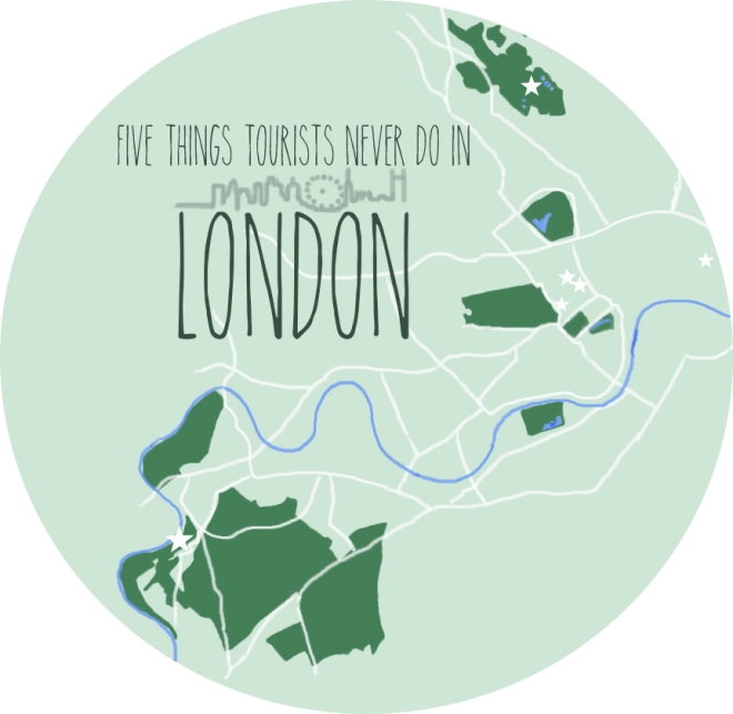 five things London 1