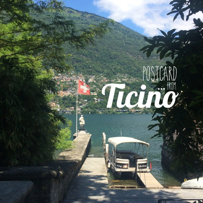 postcard from ticino